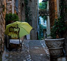 Old Town Alley   Nice, France by rubbish-art