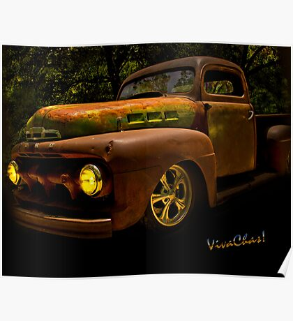 Ford Rat Rod Truck Poster