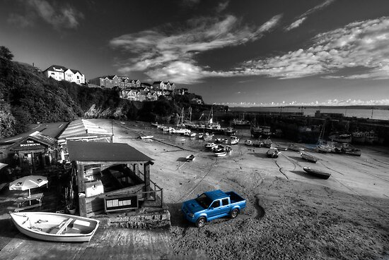 Newquay Harbour  Pickup  by Rob Hawkins