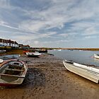 Burnham Overy Staithe by Nicholas Jermy