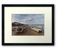 Burnham Overy Staithe Framed Print