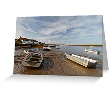 Burnham Overy Staithe Greeting Card