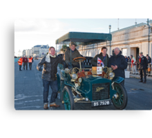 Tony Hirst On London to Brighton Veteran Car Run Canvas Print