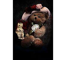 BFFs: Teddy Bear and Raggedy Ann Photographic Print