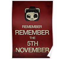 Remember, remember the 5th of November Poster