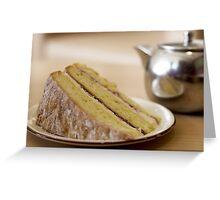 Cake and Tea Greeting Card