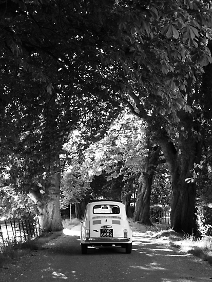 Cinquecento Fiat 500 BW by Flo Smith