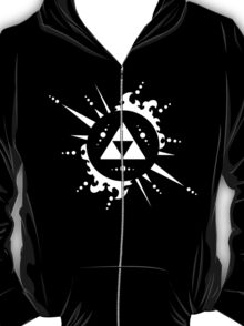 The legend of Zelda Triforce, White T-Shirt