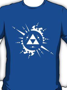 The legend of Zelda Triforce, White T-Shirt