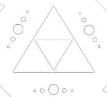 The legend of Zelda Triforce, White Sticker