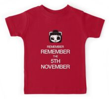Remember, remember the 5th of November Kids Tee
