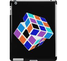 Rubix Cube - Unsolved. Negative Space iPad Case/Skin