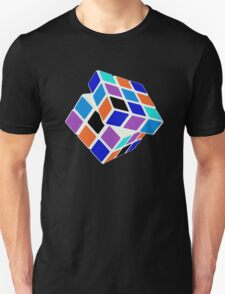 Rubix Cube - Unsolved. Negative Space T-Shirt