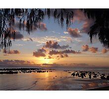 A Pastel - Coloured Sunrise Photographic Print