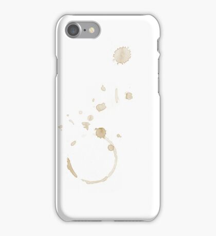 Coffee Stains iPhone Case/Skin