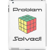 Rubix Cube - Problem Solved. iPad Case/Skin