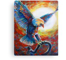 Eagles Charge Canvas Print