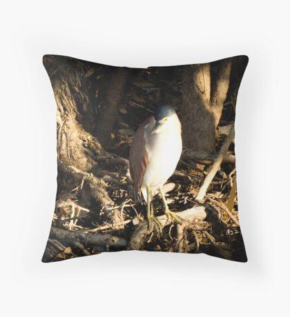 Kakadu Bird Throw Pillow