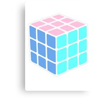 Rubix Cube - Plain Canvas Print