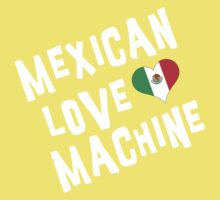 "Mexican ""Mexican Love Machine"" One Piece - Short Sleeve"