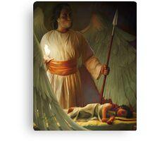 Guardian Angel by Tamer ElSharouni Canvas Print