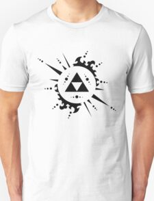 The legend of zelda Triforce, Black T-Shirt