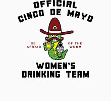 "Cinco de Mayo ""Women's Drinking Team"" Womens Fitted T-Shirt"
