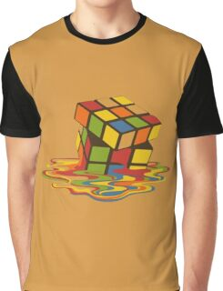 Rubix Cube - Melting Graphic T-Shirt