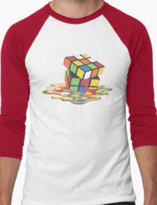 Rubix Cube - Melting Men's Baseball ¾ T-Shirt
