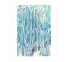 Winter Woodland, Winter Wonderland Art Print