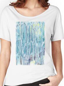 Winter Woodland, Winter Wonderland Women's Relaxed Fit T-Shirt