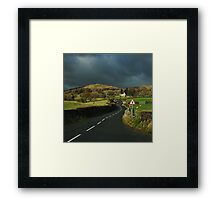The Road to Wuthering Heights Framed Print