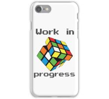 Rubix Cube - Work in progress iPhone Case/Skin
