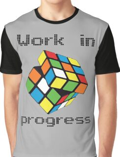 Rubix Cube - Work in progress Graphic T-Shirt