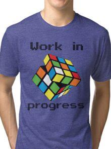 Rubix Cube - Work in progress Tri-blend T-Shirt