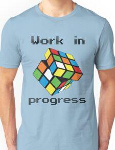 Rubix Cube - Work in progress Unisex T-Shirt