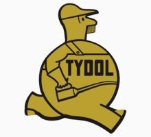 Vintage Tydol Motor Oil Man T-shirt by JohnOdz