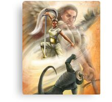 Warrior in the Spirit Canvas Print