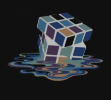 Rubix Cube - Melting. by brzt