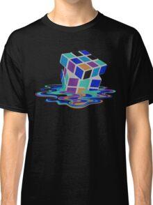 Rubix Cube - Melting. Classic T-Shirt