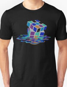 Rubix Cube - Melting. T-Shirt