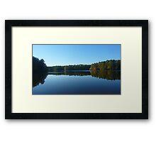 Lake Johnson Framed Print