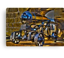 And I thought my Canon was heavy! Canvas Print