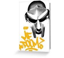 MF Doom Greeting Card