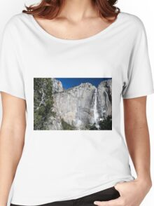 Yosemite upper falls, Yosemite national Park Women's Relaxed Fit T-Shirt