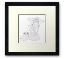 Cassie Belle Framed Print