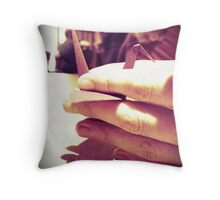 hold on to your wishes Throw Pillow