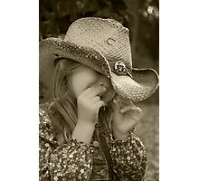 it's a cowgirl thing! Photographic Print