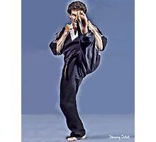 Joe Corley Kick! Photographic Print