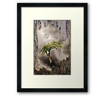 Tree in the Wood Framed Print